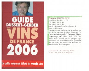 guide-dussert-gerber-2006-1-300x240 Récompenses