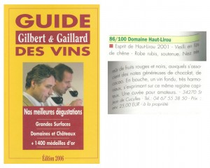 guide-gilbert-gaillard-2006-1-300x240 Récompenses
