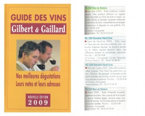 guide-gilbert-gaillard-2009-1-300x240 Récompenses