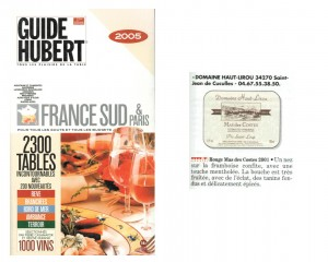 guide-hubert-2005-300x240 Récompenses
