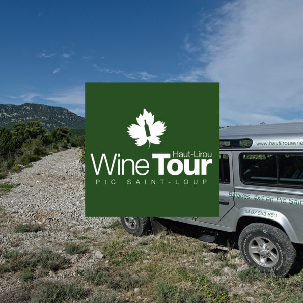 wine tour pic saint loup 4x4